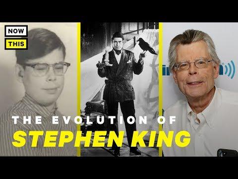 The Evolution of Stephen King  NowThis Nerd