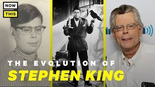 The Evolution of Stephen King | NowThis Nerd