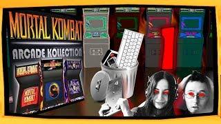 #MortalKombat 1: Kollection. Odc. 1. Komputer robi sobie na nas fatality. #paragranimuje
