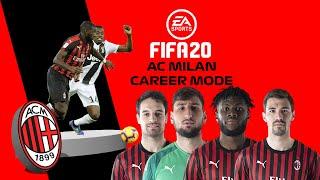 FIFA 20 AC Milan Career Mode 28 ПОБЕДА НАД PIEMONTE И НИЧЬЯ С MANCHESTER CITY