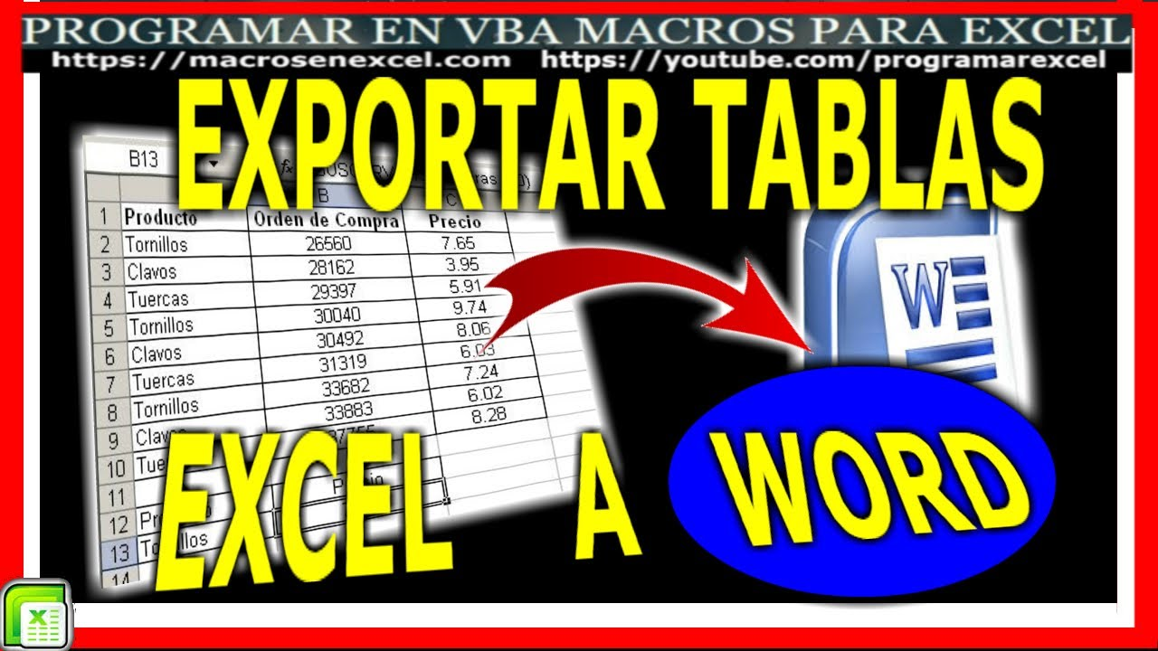 231 Como ️ copiar una tabla de Excel 🔥 a Word - YouTube