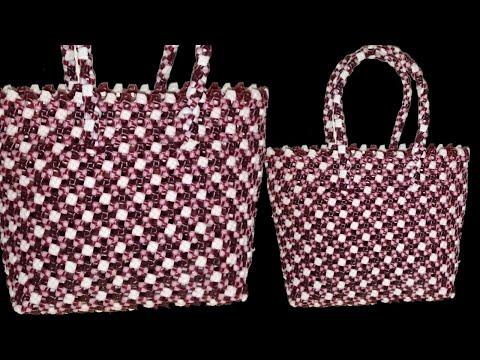 2 Roll Plastic wire Dot design Crosscut koodai (2/2)   Plastic Wire basket Weaving  Crosscut koodai