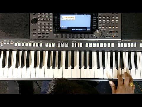 Yeshu Tera Naam Keyboard Lesson And Chords