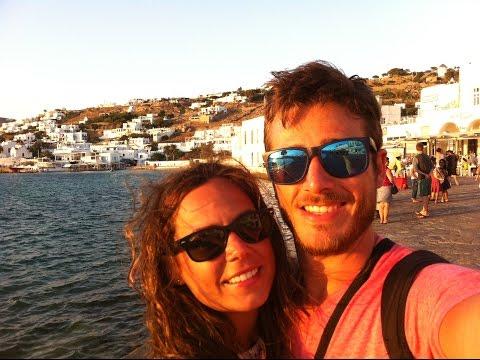 Viaje a Miconos y Santorini, Islas Griegas