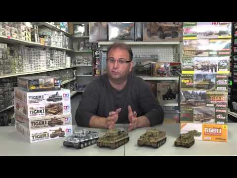 Hobby Talk , building The Tiger 1, Bandai Y Wing and coming