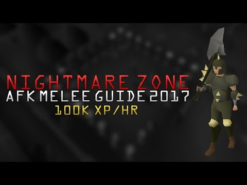 OSRS - AFK Melee Nightmare Zone Guide (2017)