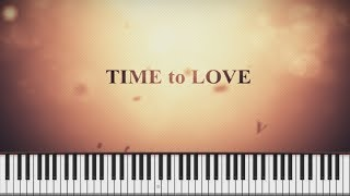 Time to love - October [Piano Tutorial Synthesia] /악토버