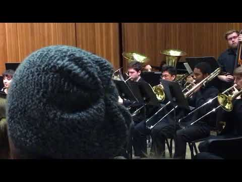 Winter 2017 UP Wind Ensemble last song