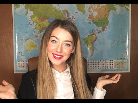 [ASMR] Travel Agent English Accent Roleplay