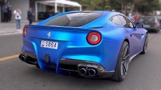 Insane loud ferrari f12 w/ armytrix exhaust! revs & accelerations!