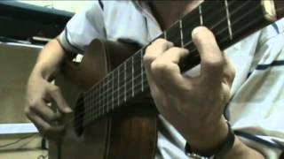 CHIỀU MỘT MÌNH QUA PHỐ - Guitar Solo, Arr. Thanh Nhã