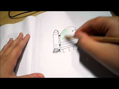 Drawing the Doodler from Doodle Jump