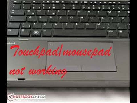 Laptop Mousepad/Touchpad Not Working (Fix Touchpad 100% Working) orange  light issue