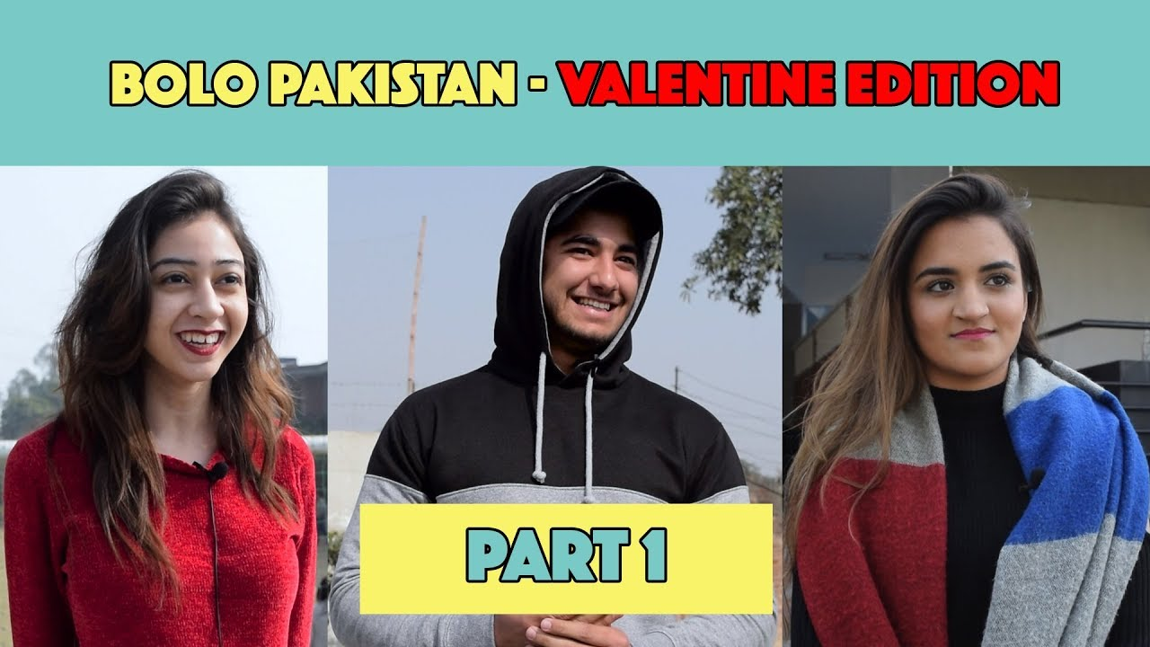 Bolo Pakistan | Valentine's Edition | Part 1 | MangoBaaz