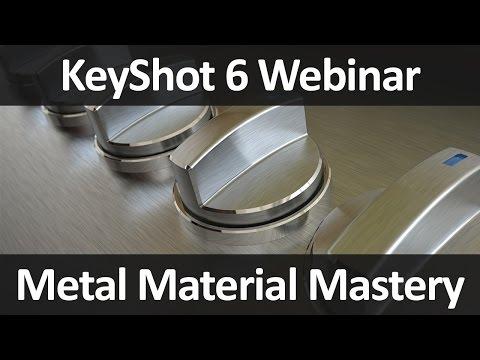 KeyShot Webinar 52: Metal Material Mastery