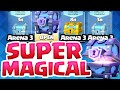 Clash Royale Arena 3 ♦ SUPER Magical Chest Opening / LIVE Battle! ♦