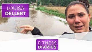 Fällt das Fitness-Festival ins Wasser? | Louisa Dellert | Folge 7 | Fitness Diaries