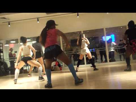 SOULJA BOY- SHE GOT A DONK -TWERK WORKSHOP NYC SOLO