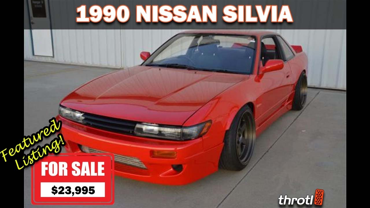 1990 Nissan Silvia For Sale Throtl Featured Listing 010 Youtube