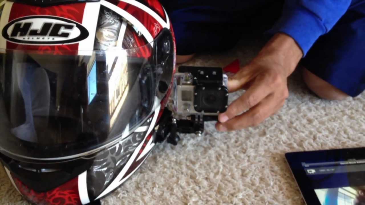 Gopro Side Mount On Motorcycle Helmet Gopro Tip 113 Micbergsma