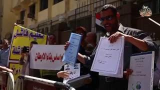 وقفة للمعلمين أمام نقابة الصحفيين والأمن يغلق شارع عبد الخالق ثروت