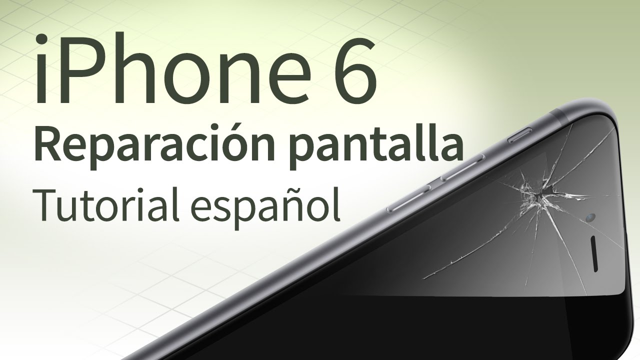 iphone 6 tutorial iphone 6 cambiar pantalla tutorial espa 241 ol 11436