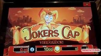 """""""Casino Fun"""" Merkur - Freispiele Bank on It! auf 40 Cent & Joker´s Cap auf 1 € Mütze"""