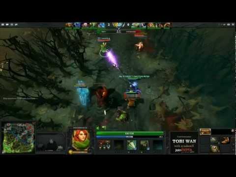 EG vs Na`Vi TD 11 WB Final Game 1