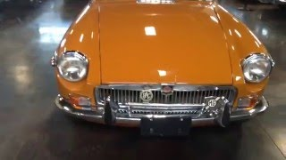 Test Drive: 1974 MGB GT SOLD SOLD SOLD at the Sun Valley Auto Club