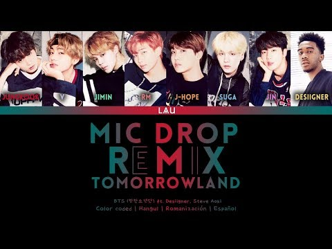BTS (방탄소년단) - 'MIC DROP' Ft. Desiigner & Steve Aoki (REMIX TOMORROWLAND) (Hang | Rom | Esp)