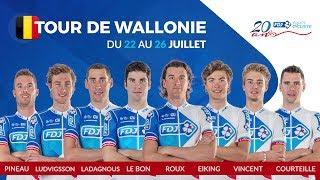 Composition de l'équipe FDJ pour le Tour de Wallonie
