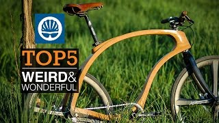 Top 5 - Weird & Wonderful Bike Tech 2015