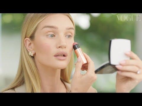 Rosie Huntington-Whiteley's 15-minute Fresh-faced Makeup Routine | Vogue India