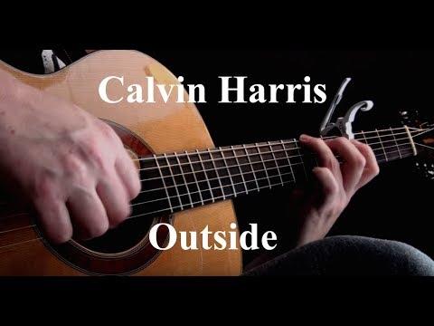 Kelly Valleau - Outside (Calvin Harris) - Fingerstyle Guitar