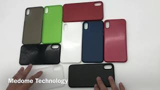 0.35mm matte for iPhone X thin case-Medome Technology