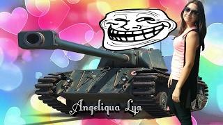 Angeliqua Lya-Fun Video #1 FCM 50t - французский поцелуй Мастера!