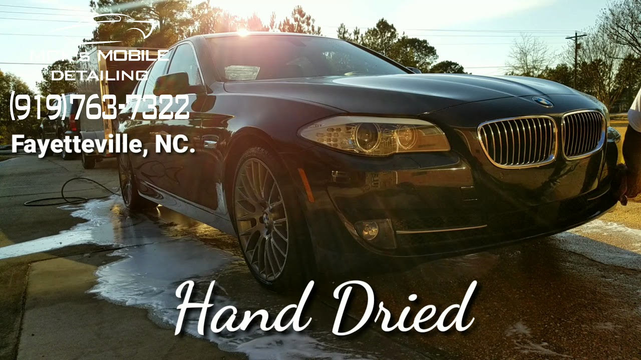 medium resolution of mck s mobile detailing bmw bmw535 hand wash car wash cleaning a car mobile detailing