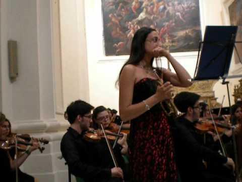 Tromba solista Roberta d'Agostino Concerto in Re Maggiore di G. Torelli (seconda parte)