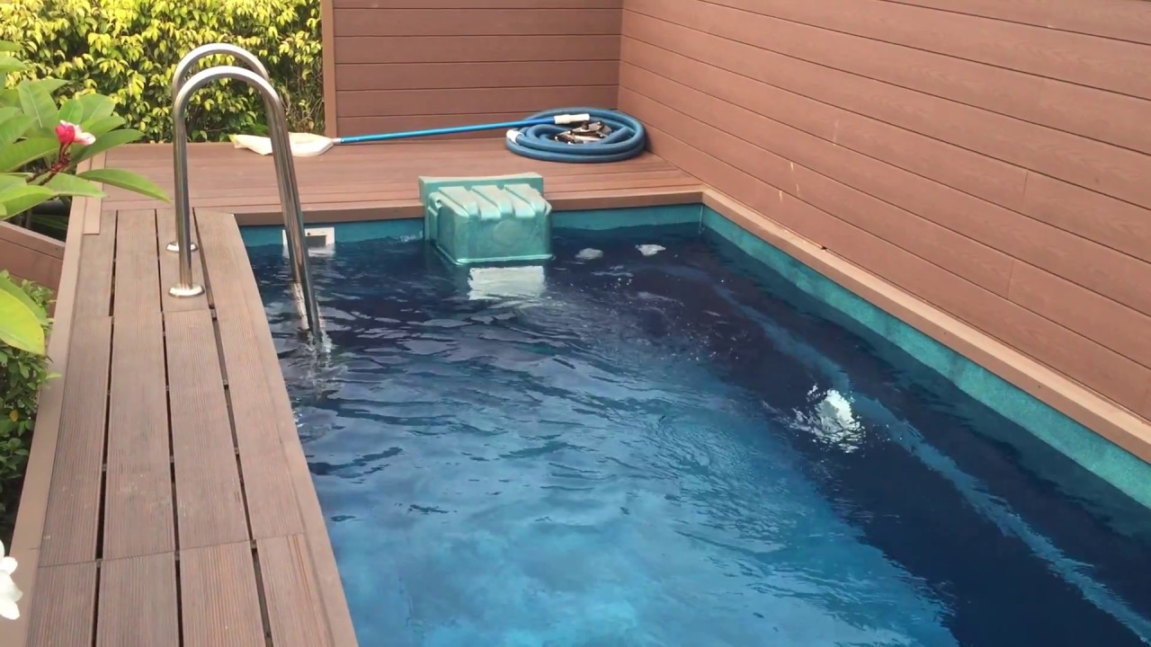 How To Install Roof Top Swimming Pool Youtube