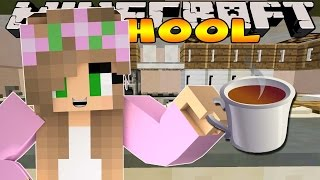 Minecraft School: Little Kelly - MAKING TEA AND COFFEE!