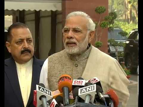 PM Modi's statement to the media ahead of the Winter Session 2017