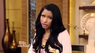 Nicki Minaj Interview On Live! With Kelly & Michael 6/9/2014