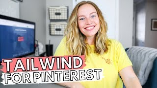HOW TO USE TAILWIND FOR PINTEREST: Exactly what I do on Tailwind to manage my Pinterest account