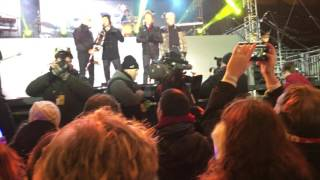 Chicago band 2015-2016 New Year, Broadcast Blvd