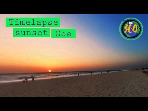 Goa 360 Timelapse Sunset | 360 VR | 360 Travel Stories