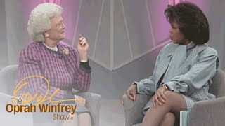 Barbara Bush Reflects on Her Life's Blessings | The Oprah Winfrey Show | Oprah Winfrey Network