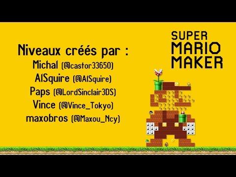 [Wii U] JeGeekJePLAY Super Mario Maker - Twitter Followers levels