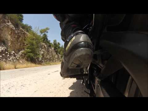 Epidavros 19.5.2013 return GSXR 750 onboard
