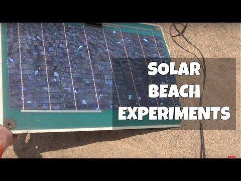 Solar panels without charge controllers