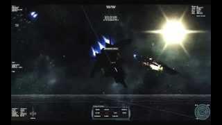 Starshatter: Rearmed Mod  Build 14, Battle group test